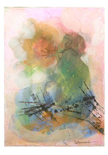 Miyuki TAKANASHI - Gemälde - Wait For Spring