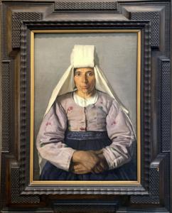 Carlo BOCCA - Gemälde - Contadina calabrese (1929)