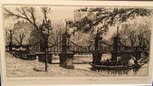 Leonard MERSKY (1917-1994) - Public Gardens, Boston