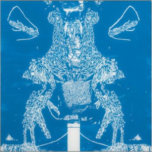Oliver DORFER - Peinture - Blueprint 2