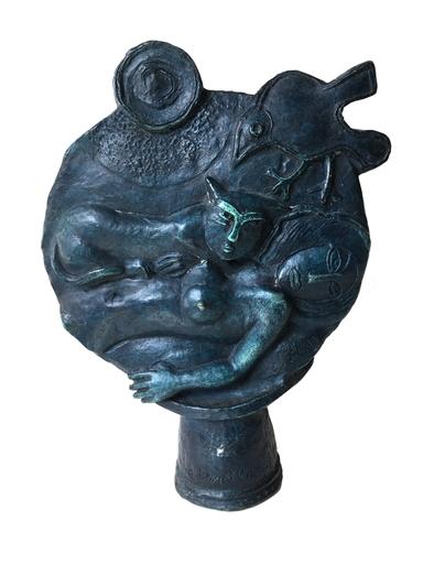 CORNEILLE - Skulptur Volumen - La femme et le chat
