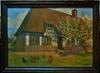 Henri BARBIER - Peinture - Maison en Normandie