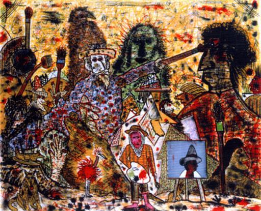 Roy DE FOREST - Grabado - The Painter