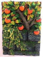Piero GILARDI - Escultura - Il muro dei cachi