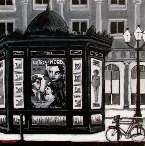 Carlo MAIOLINI - Peinture - Hôtel du Nord