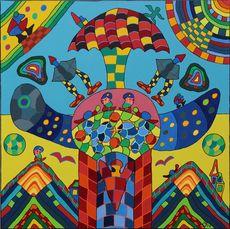 Michael JANSEN - Gemälde - Die Unruhe des Innenlebens
