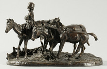 Evgeni Alexandrovich LANCERAY - Sculpture-Volume - The Little Cowboy