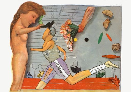 Pat ANDREA - 版画 - Olympic champion