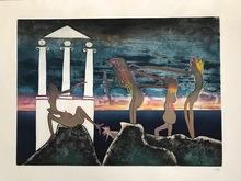 罗贝托•马塔 - 版画 - L'arc obscur des heures