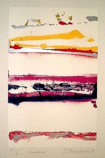 John Angus CHAMBERLAIN - Grabado - Hingham
