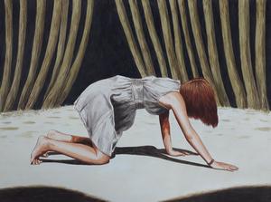 Erlend STEINER LOVISA - Painting - Sterre 6    (Cat N° 6380)