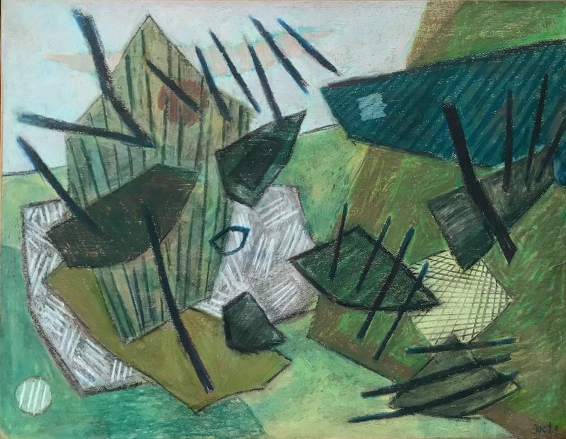 Henri GOETZ - Zeichnung Aquarell - Untitled, 1980 ca