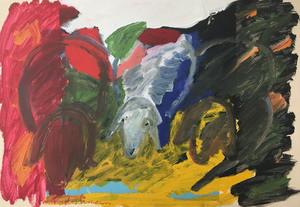 Menashe KADISHMAN - Painting
