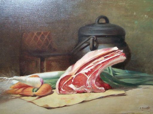 Pierre Henry BESSEDE - Peinture - Stilleven