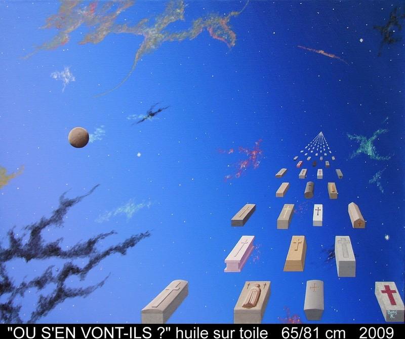 Boris KHELSTOVSKY - Painting - Où s'en vont-ils