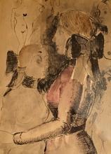 Paul DELVAUX - Pintura - untitled