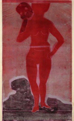 Leiko IKEMURA - Print-Multiple - Muchacha con la muerte 2