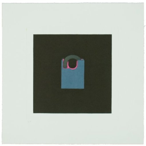 Michael CRAIG-MARTIN - Print-Multiple - The Catalan Suite I - Padlock