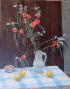 """André-Albert TONDU - Painting - """"LE BOUQUET CHAMPÊTRE"""""""