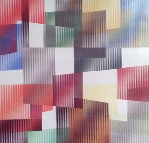 Yaacov AGAM - Stampa-Multiplo - Geometric 3 Agam