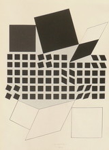 Victor VASARELY (1906-1997) - COMPOSITION 3