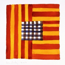 Sean SCULLY - Stampa Multiplo - 4.10.87