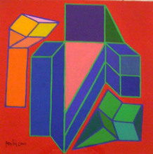 Achille PERILLI - Peinture - Endo