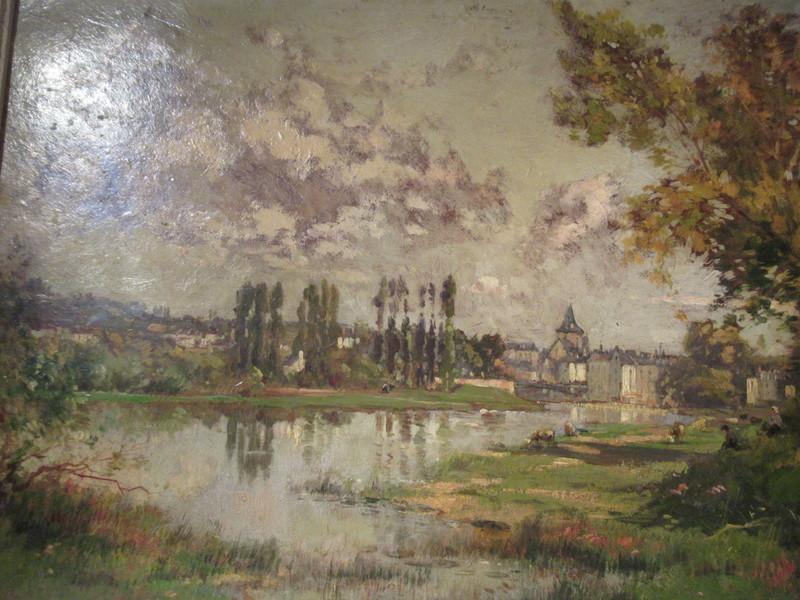 Maurice LÉVIS - Pintura - Malicorne.Sarthe