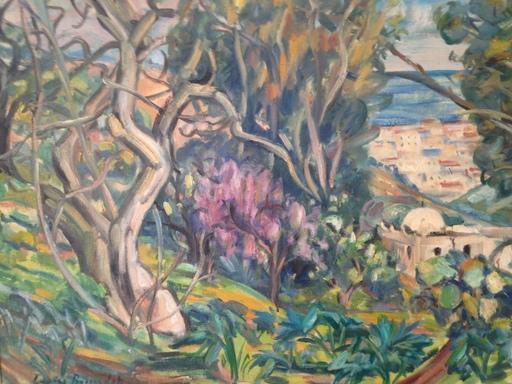 Louise BOSSERDET - Pintura - Djenan Ben Omar à Alger