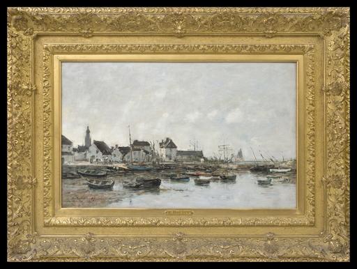 欧仁•布丹 - 绘画 - Le Port du Croisic