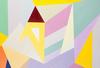 Lorena ULPIANI - Painting - Geometrie in viola