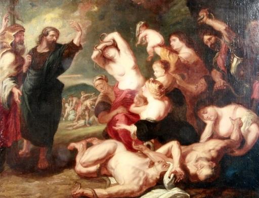 Pintura - Moses und die Schlange
