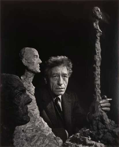 Yousuf KARSH - Fotografia - Alberto Giacometti (1965)
