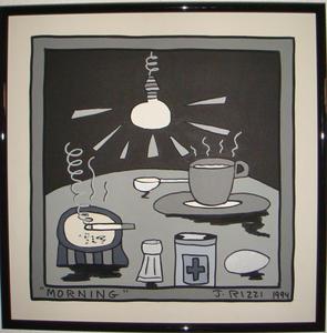 James RIZZI - Pintura - Morning