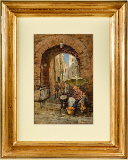 Nicolae DARASCU - Gemälde - LANDSCAPE