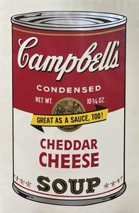 Andy WARHOL - Stampa Multiplo - Campbell's Soup II Cheddar Cheese F&S II.63