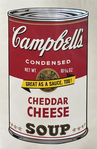 Andy WARHOL - Stampa-Multiplo - Campbell's Soup II Cheddar Cheese F&S II.63