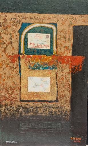 Marcel Charles DESBAN - 绘画 - Arthur Rimbaud - La dernière lettre