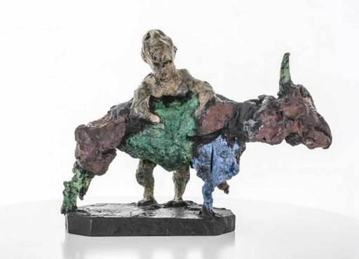 Markus LÜPERTZ - Escultura - Herkules und der Stier