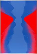 Otto PIENE (1928-2014) - Ciel Rouge. Ciel Bleu