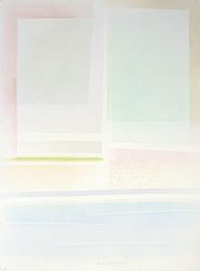 Riccardo GUARNERI - Painting - 3 linee luce