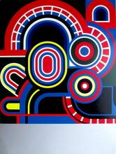 Jean DEWASNE - Estampe-Multiple - Composition I