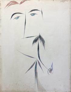 Gianni DOVA - Pittura - Ritratto di Carlo Cardazzo