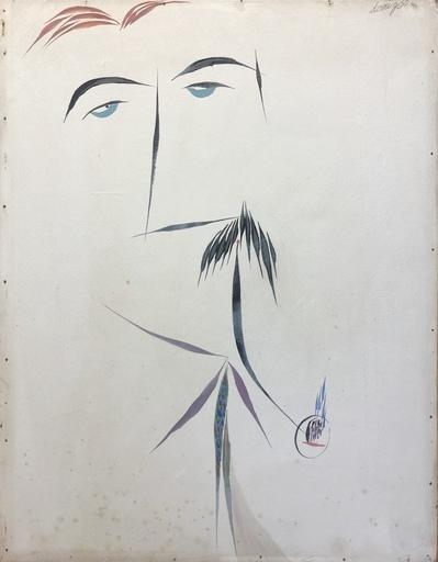 Gianni DOVA - Peinture - Ritratto di Carlo Cardazzo