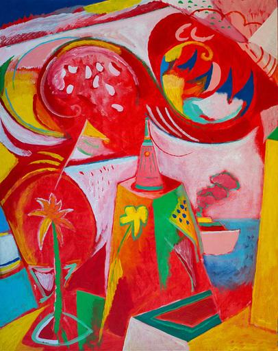 Nicola Maria MARTINO - Painting - Arrivo nel grande porto