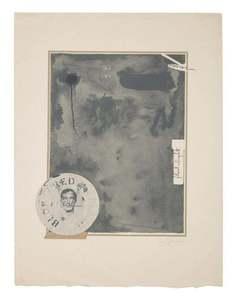 Jasper JOHNS - Stampa-Multiplo - Souvenir 1