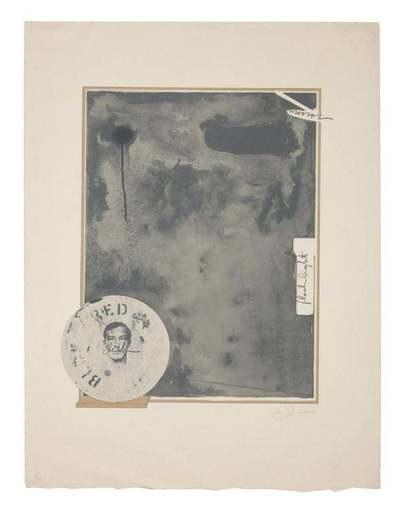 Jasper JOHNS - Estampe-Multiple - Souvenir 1