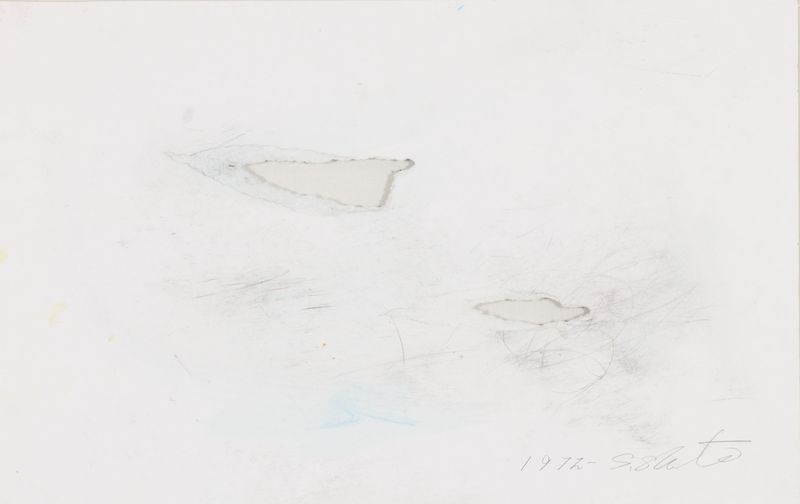 Shozo SHIMAMOTO - Peinture - Ana Esquisse 01