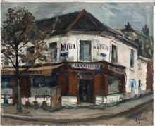 Takanori OGUISS - Painting - L'hôtel de la poste