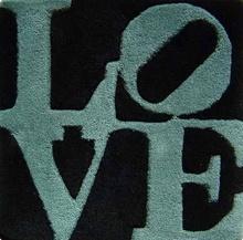 Robert INDIANA - Tapestry - love